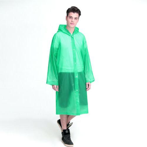 Men Waterproof Rain Coat Outdoor Hooded US
