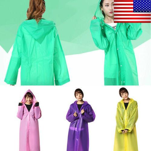 men women raincoat fashion waterproof long rain