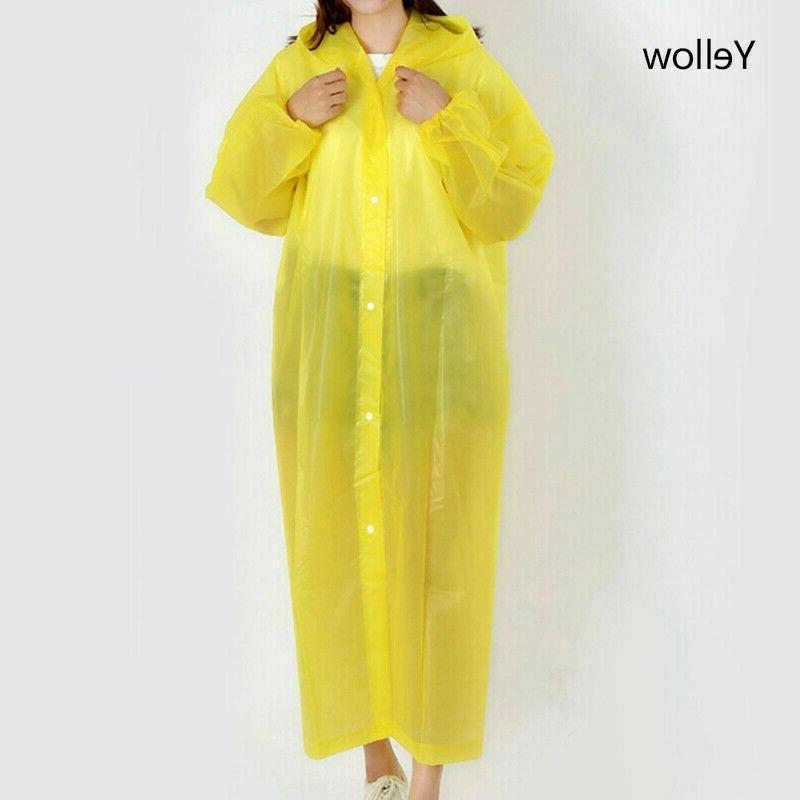 Men Raincoat Rain Coat Gown Waterproof Jacket 6 Colors