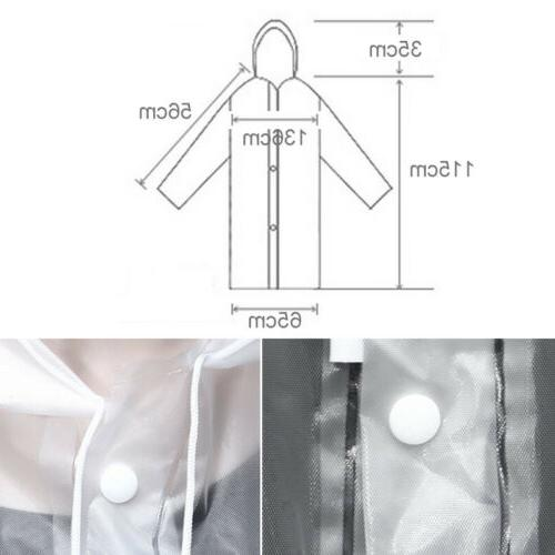 Men PE Hooded Coat Poncho Poncho