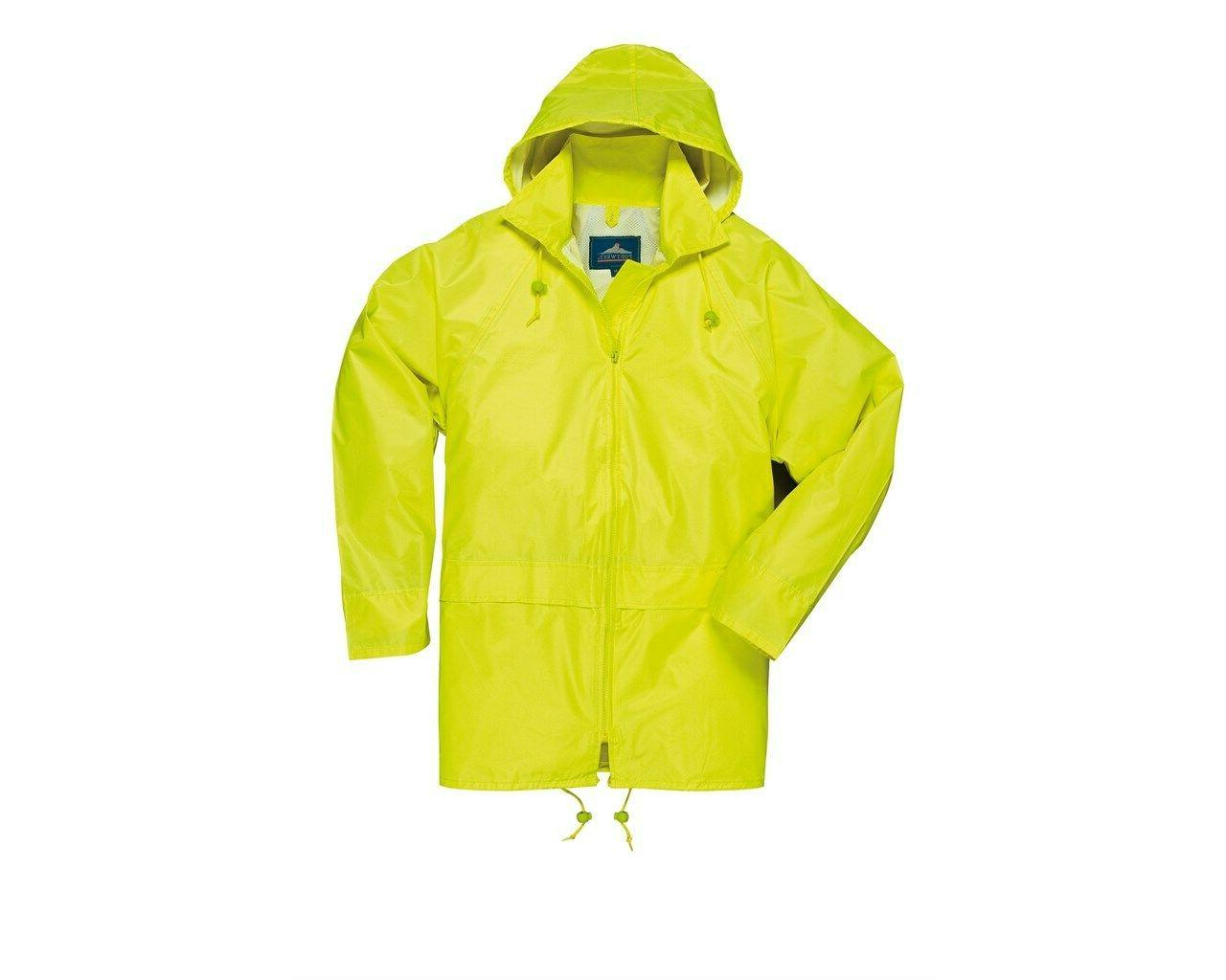 Men Womens Rainwear Rain Attached Hood Sizes