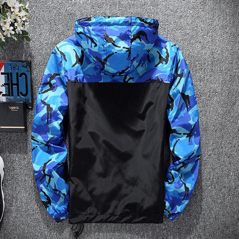 Mens Waterproof Coat Sport Raincoat