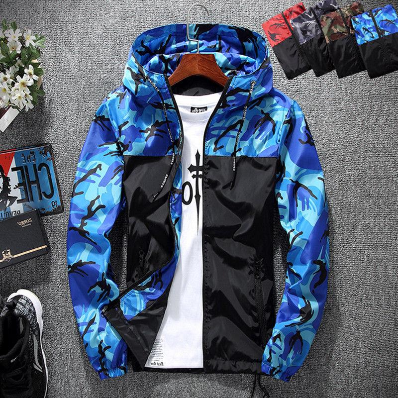 Mens Coat Winter Ski Outdoor Sport Raincoat Hoodie