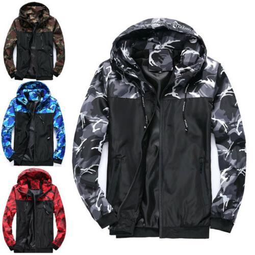 Mens Waterproof Hiking Jacket Coat Winter Ski Outdoor Sport
