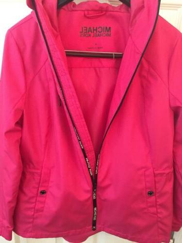 MICHAEL Rain Jacket Waterproof New! Medium M