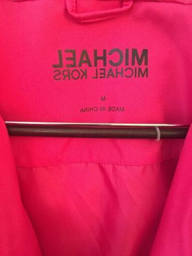 MICHAEL Rain Jacket Pink Waterproof