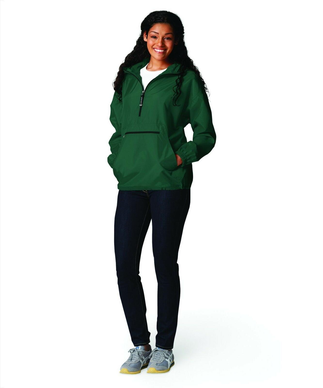Monogrammed Charles Pullover - Charles River Pack Jacket
