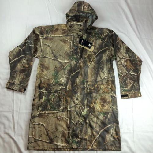 New $130 Mens M L 3XL Helly Hansen Camo Rain Coat Jacket Lon