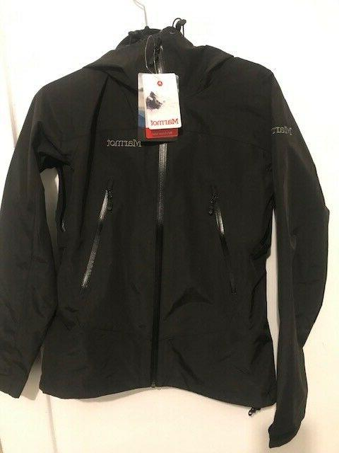 new eclipse waterproof rain jacket black womens