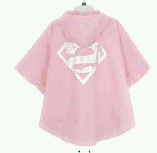 New Kids children Waterproof Superhero Rainsuit