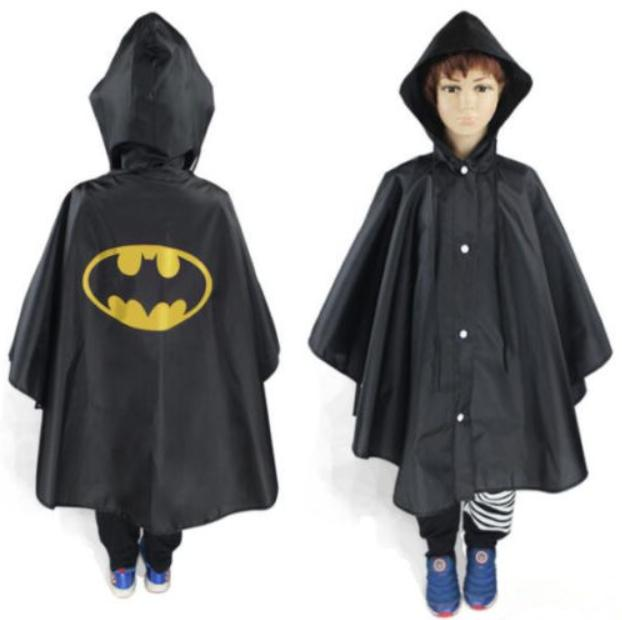 New Kids Rain Coat Poncho Rainwear Rainsuit