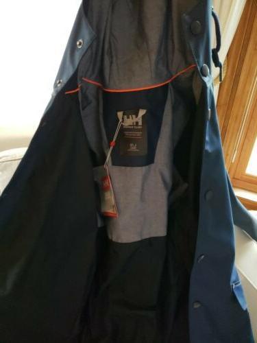 NEW. Quality Womens Kirkwall Coat- Blue L