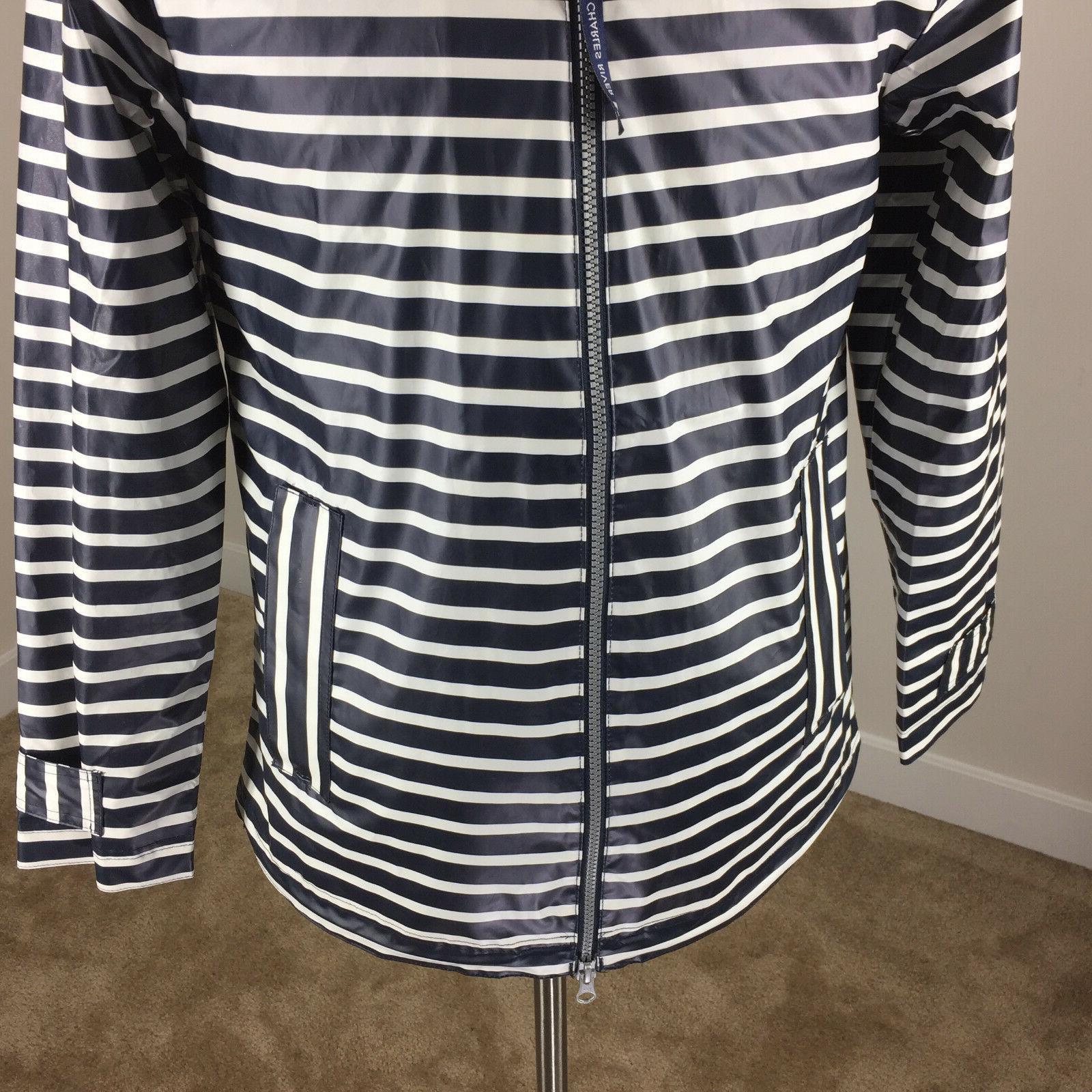 New The New S Navy Stripe Coat Jacket