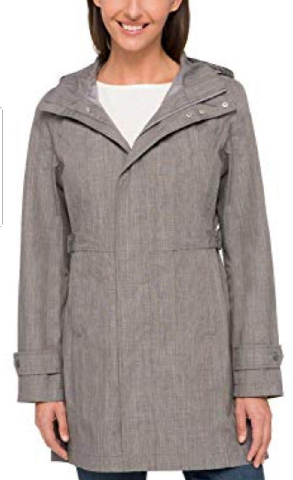 NEW Kirkland Signature Trench Coat Rain Hood COLOR