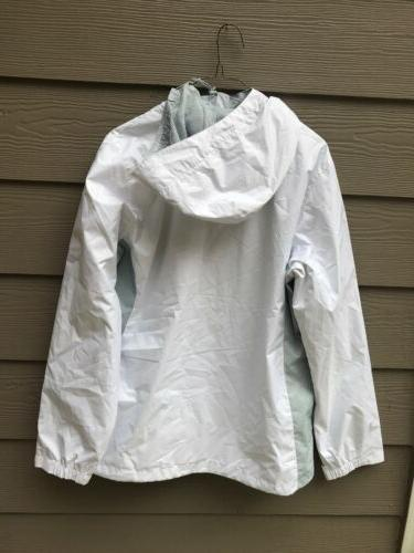NEW Columbia Hooded Rain Jacket,