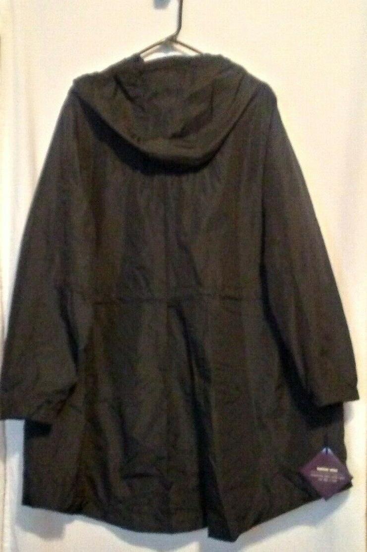 NEW Women's Plus Size Rain Coat - -