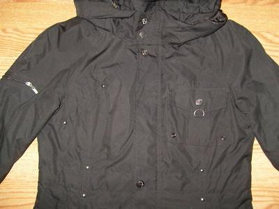 New Womens Small COLE HAAN Packable Hood Hooded Jacket Coat