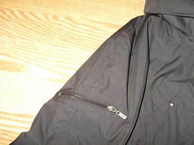 New Womens S Small COLE Packable Hooded Black Raincoat Jacket Coat