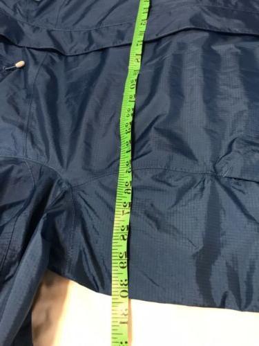 NWOT Nylon Jacket Rain Coat Trail Blue Size 3X