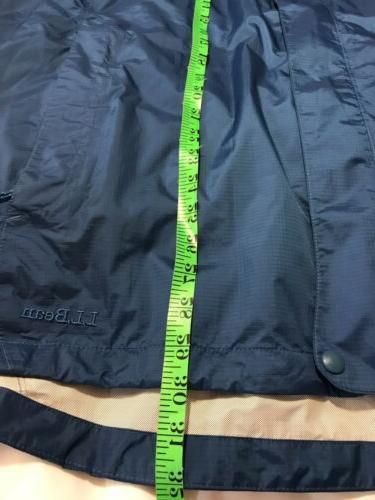 NWOT LLBean Womens Nylon Jacket Rain Trail 3X