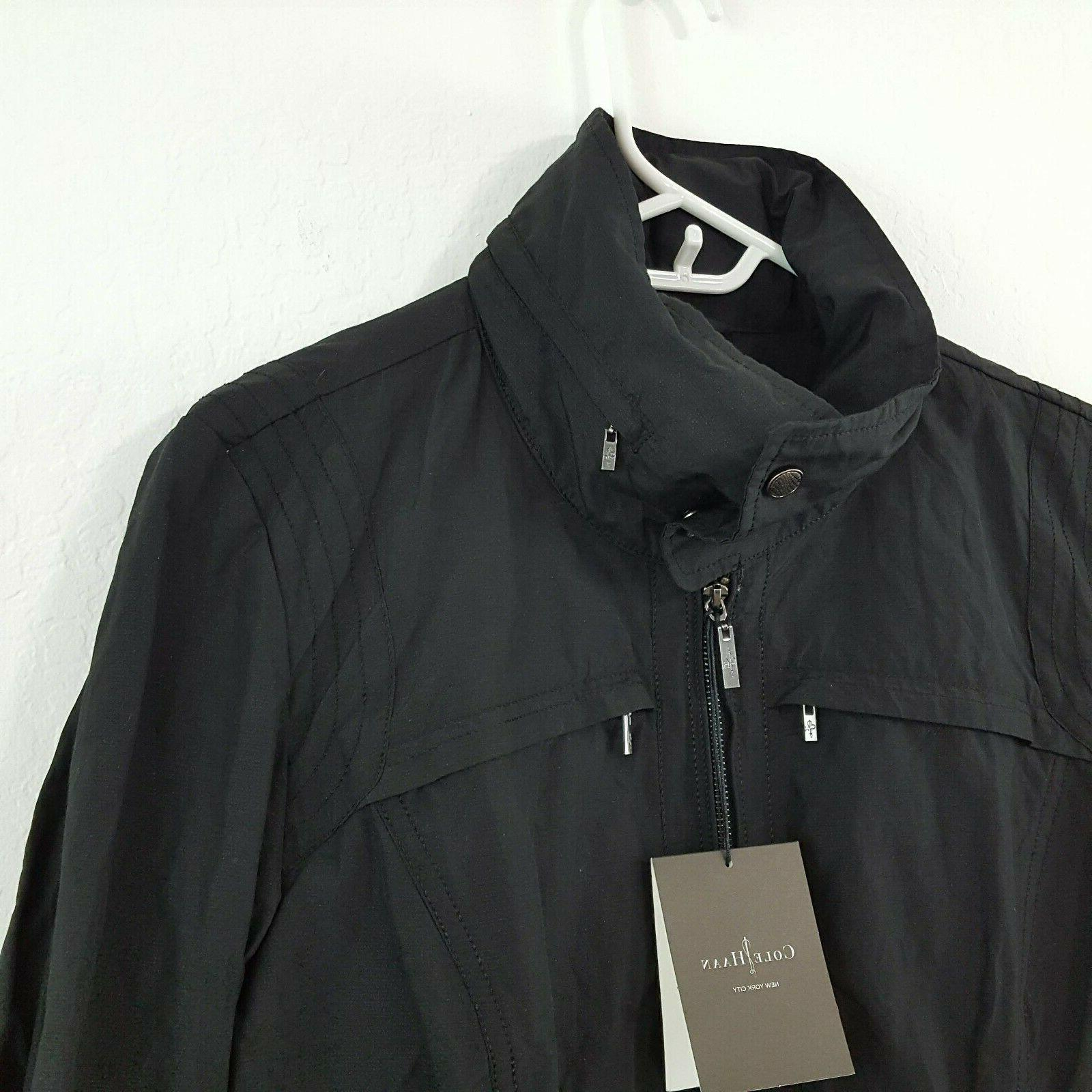 NWT Cole Hooded Packable Size