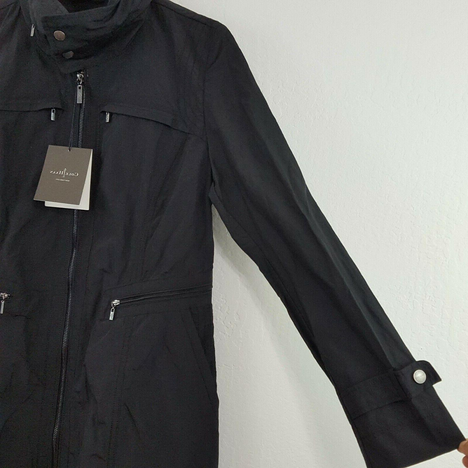 NWT Cole Hooded Size Pockets