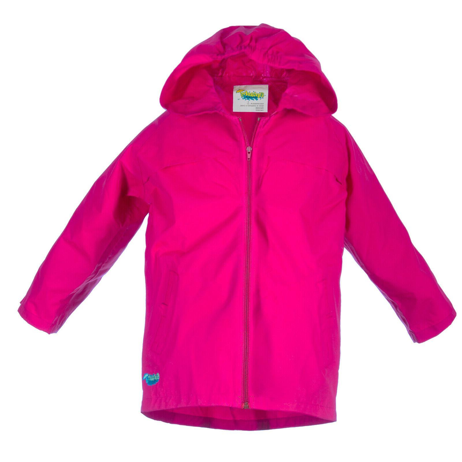 Splashy Kids Rain Coat ~ Colorful!!