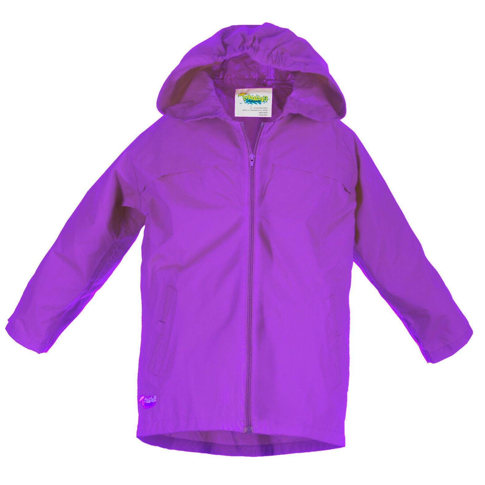 Splashy Nylon Rainwear Kids - Coat ~ Bright and