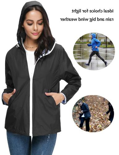 LOMON Outdoor Jacket Women's Waterproof