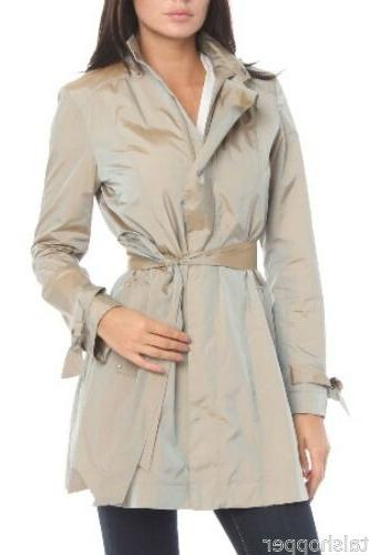 COLE Jacket Trench Coat Bag $395 NWT L 12-14