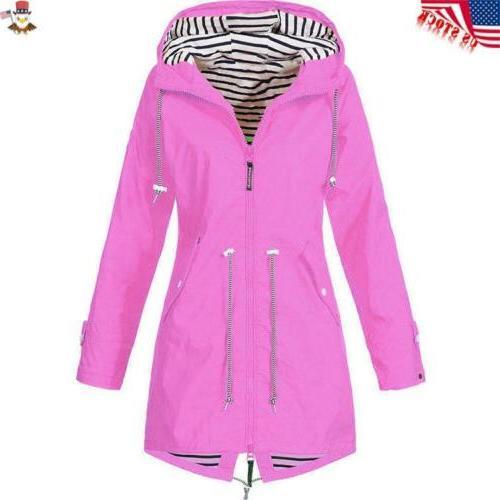 Plus Size Long Sleeve Wind Jacket Coat
