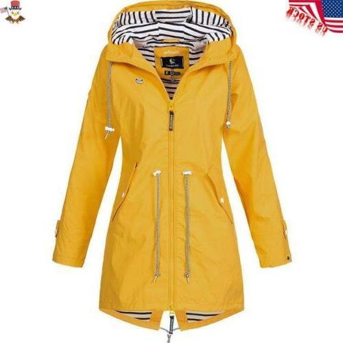 Plus Size Sleeve Lady Waterproof Rain Coat
