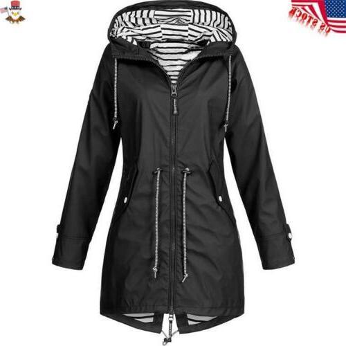 Plus Sleeve Lady Outdoor Rain Coat