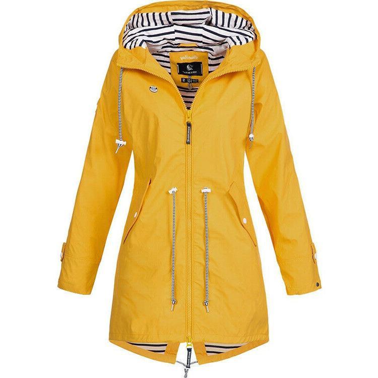 Plus Size Women Long Sleeve Jacket Lady Coat