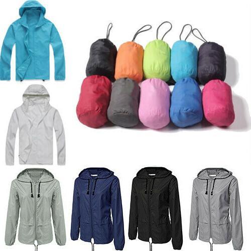 Plus Size Jacket Hiking Rain