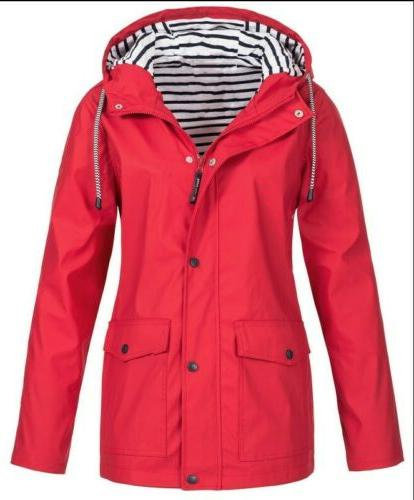 Plus Wind Jacket Rain Coat Outerwear