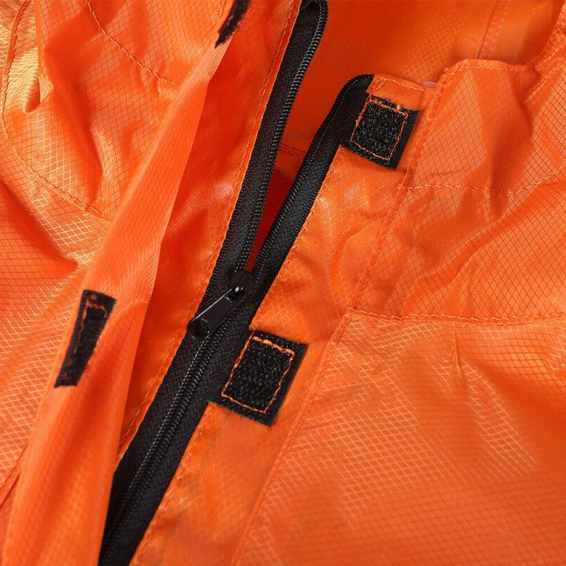 Pocket Rain Coat Rain Jacket Hooded