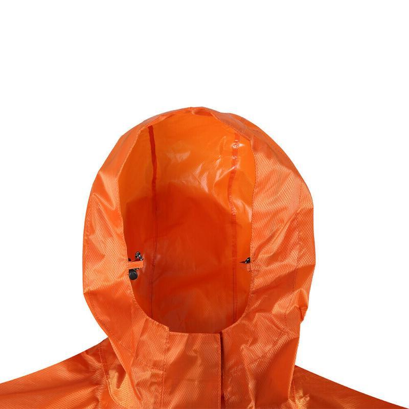 Pocket Windproof Waterproof Rain Coat Rain Hooded Raincoat