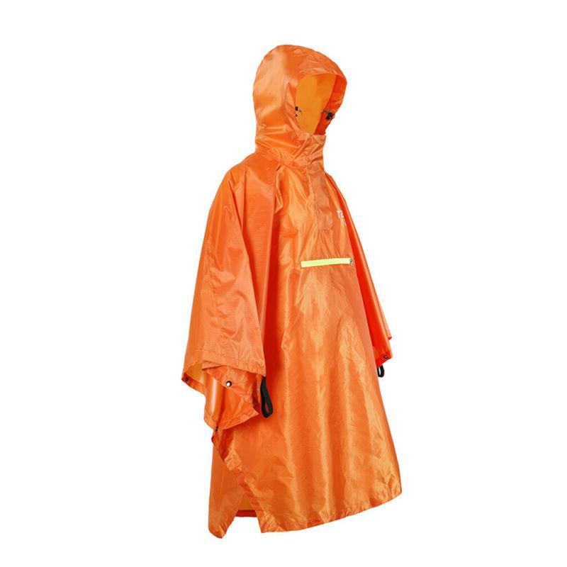 pocket outdoor windproof waterproof rain coat rain