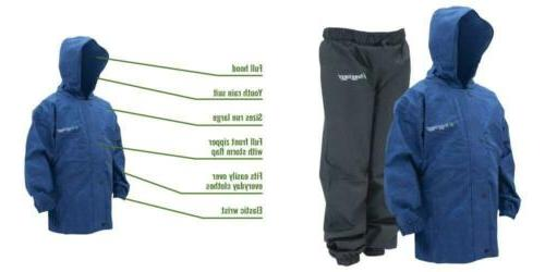 polly woggs waterproof breathable rain suit small