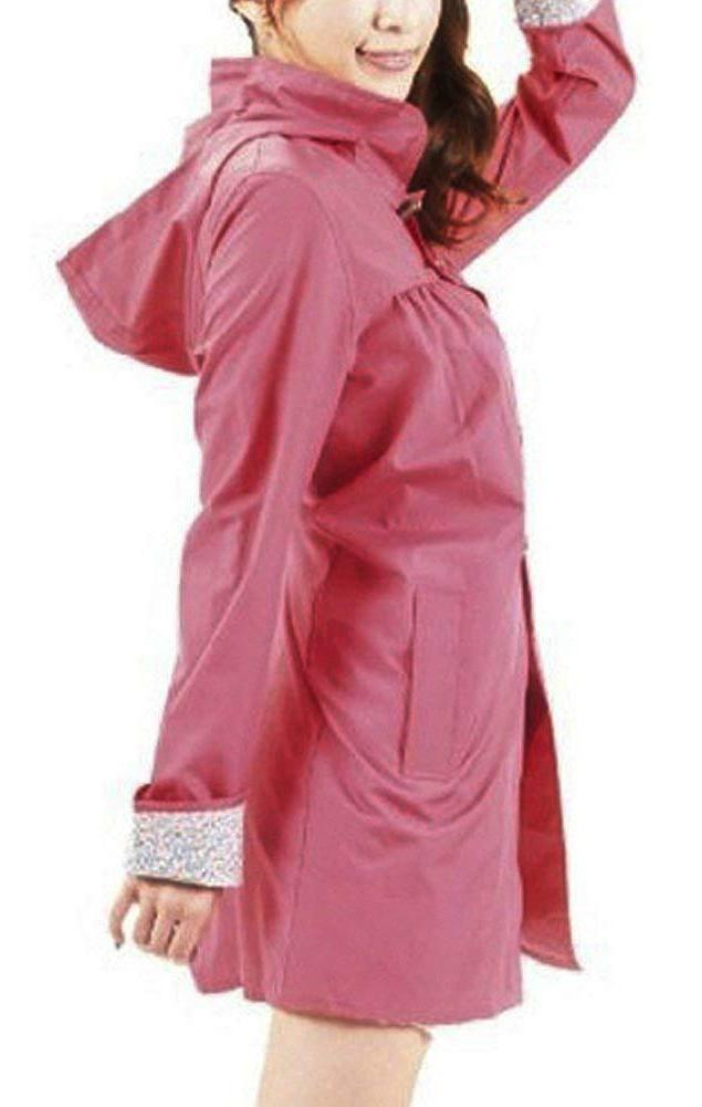 QZUnique Packable Rain Raincoat with