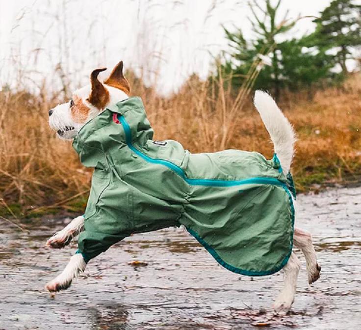 HURTTA RAIN BLOCKER DOG JACKET SUIT