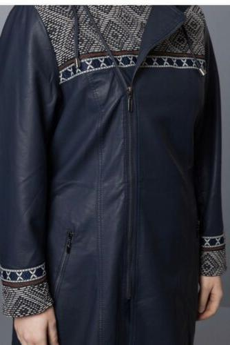 Jean Jacket/Coat Plus Size20/22 Navy