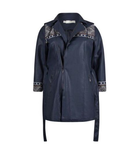 Jean Philippe Rain Jacket/Coat Leather Size20/22