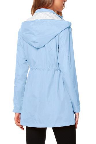 ZHENWEI Women with Lightweight Raincoat Outdoor