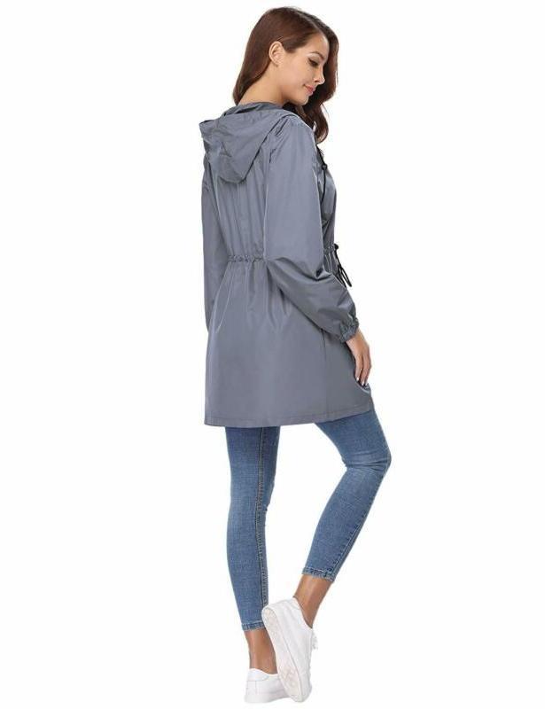 Abollria Jacket Women Waterproof Outdoor W