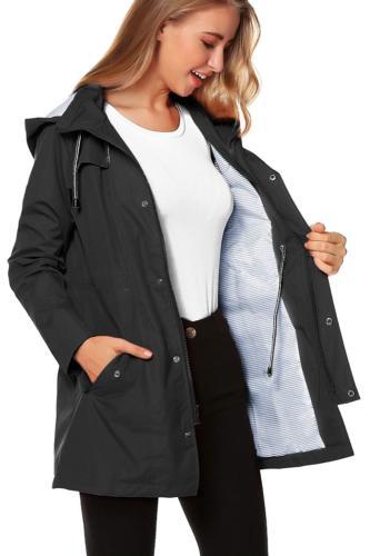 ZHENWEI Jacket Women Waterproof with Lightweight Raincoat