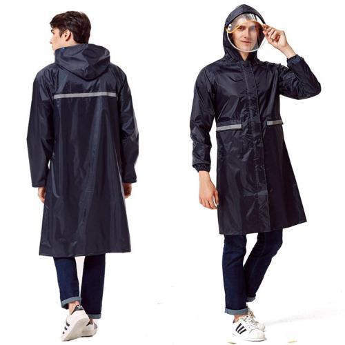 Aoteng Star Rain Poncho Long Reflective Waterproof Raincoat