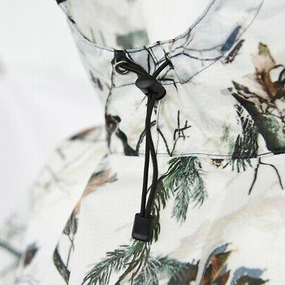 Rain Poncho Camouflage Rain Coat, Picnic Mat