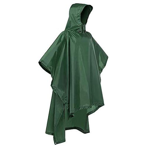 rain poncho waterproof raincoat with hoods